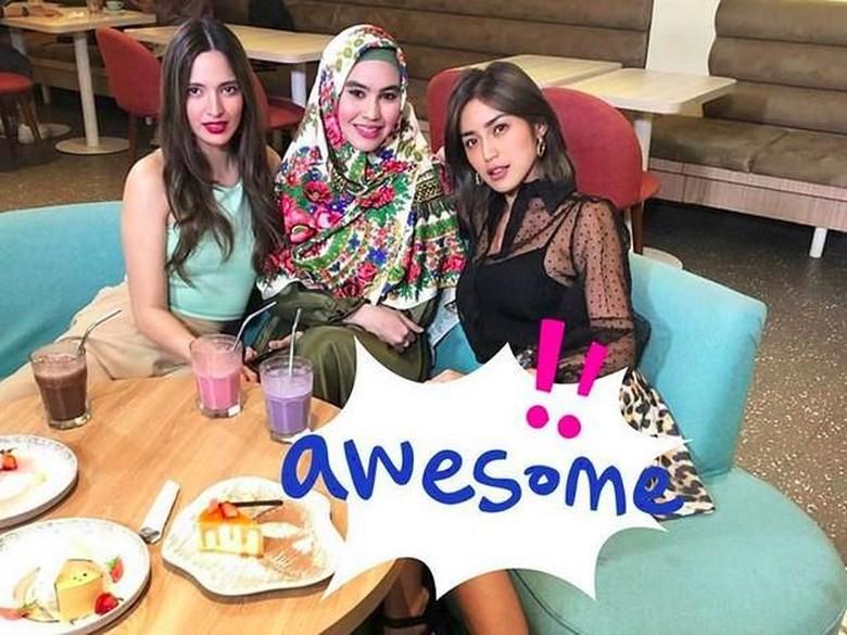 Foto: Jessica, Nia Ramadhani dan Kartika Putri (Instagram)