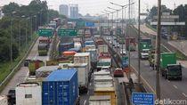 Km 25 Tol Cibitung-Brebes Barat akan Diberlakukan One Way H-3 Mudik