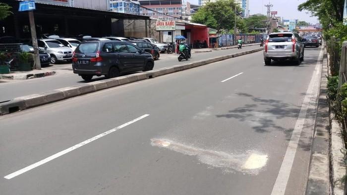 Foto: TKP kecelakaan (Farih Maulana/detikcom)