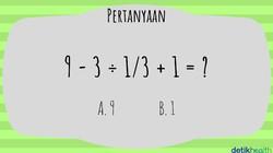 Teka-teki matematika berikut sebetulnya tidak susah hanya membutuhkan logika dan sedikit ketelitian. Coba selesaikan dan buktikan kalau otak kamu encer.