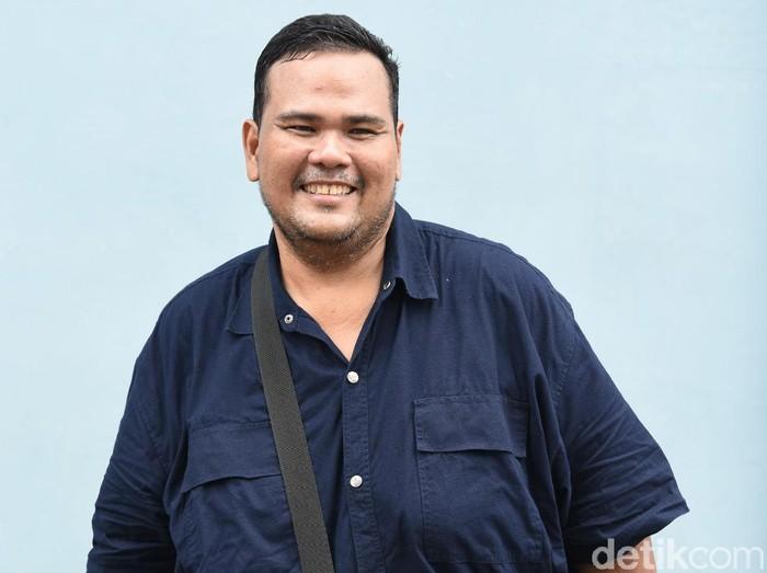 Fahmi Bo saat ditemui di kawasan studio Trans TV.