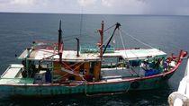 Tim KKP Tangkap Kapal Ikan Berbendera Malaysia yang Masuk Wilayah RI