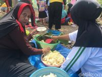 Warga Polewali Gelar Makan Bersama Ubi Kayu Rasa Rindu dan Rasa Mana Lagi
