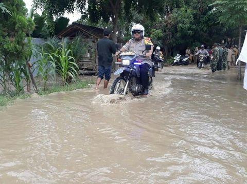 Ribuan Rumah di 4 Desa Indramayu Terendam Banjir Luapan Cimanuk