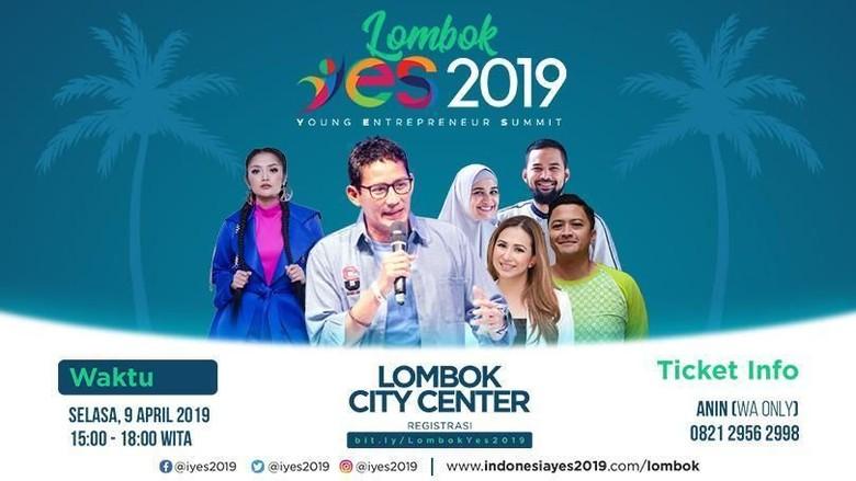 Saksikan Live Streaming Lombok YES 2019 di detikcom!