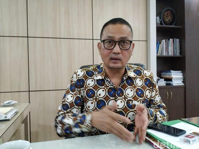 Dirjen Aptika Kementerian Kominfo Semuel Abrijani Pangerapan. Foto: detikINET/Agus Tri Haryanto