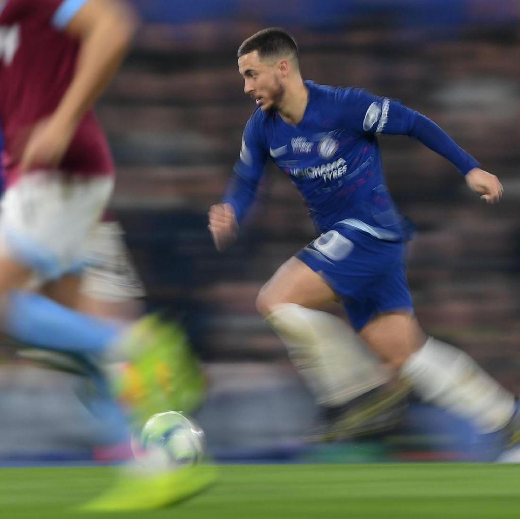 Chelsea pada Madrid: Mau Hazard? Siapkan Rp 2,37 T