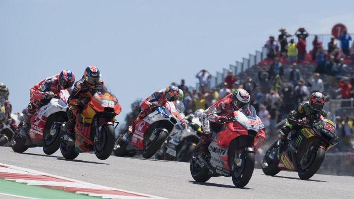 Para pebalap MotoGP memberikan prediksi hasil Liga Champions (Foto: Getty Images)