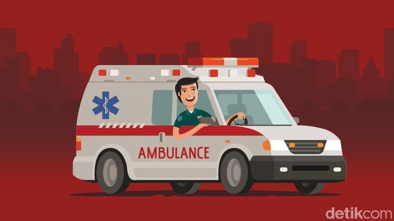 Ilustrasi mobil ambulans Foto: Fuad Hasim
