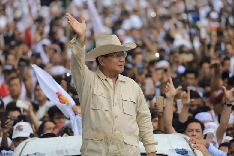 Prabowo saat berkampanye di Sumatera Selatan. Foto: Kampanye Prabowo di Palembang (Prabowo-Sandi Media Center)