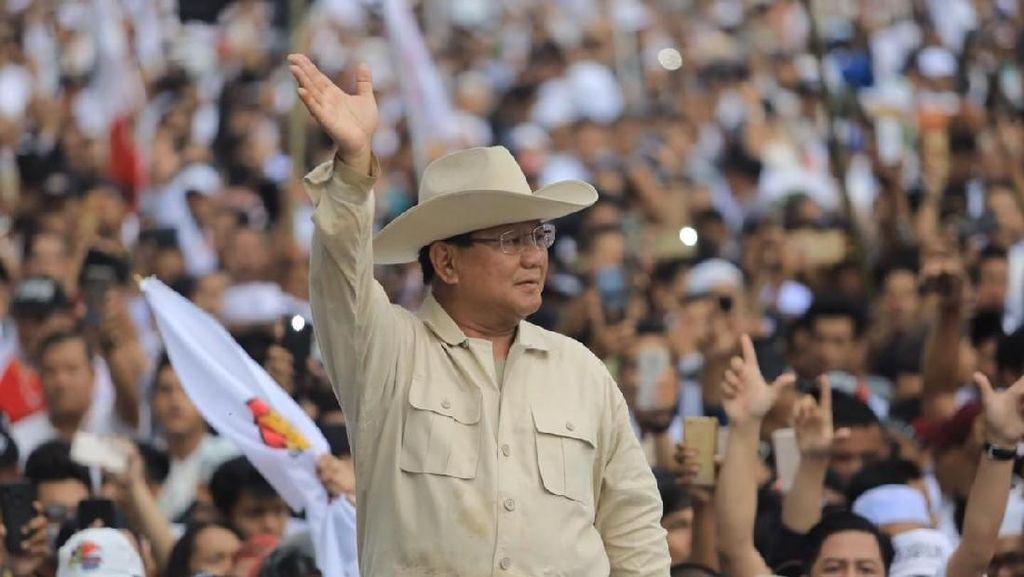 Gebrak Meja, Prabowo Disinggung Bak Arya Wiguna