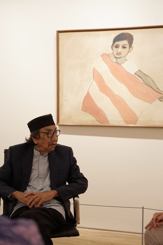 Cerita Jeihan Sukmantoro Lukis 7 Presiden Indonesia