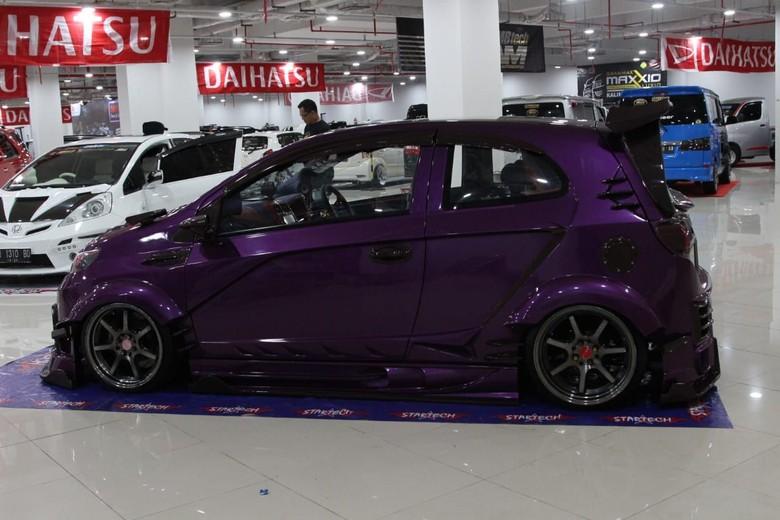 Toyota Agya dirombak total. Foto: Ridwan Arifin