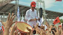 Kampanye di Karawang, Jokowi Singgung Hoax Larangan Azan