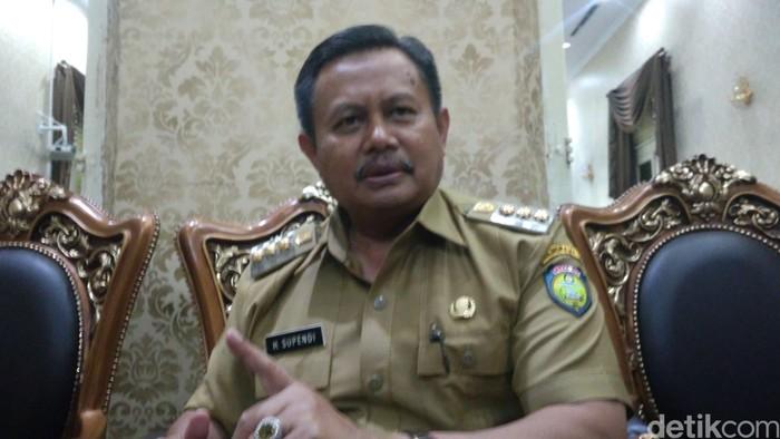 Bupati Indramayu Supendi. Foto: Sudirman Wamad