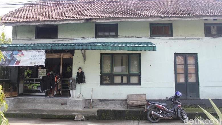 Bagian samping bangunan Hoefsmidschool di Cimahi (Yudha Maulana/detikcom)