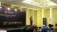 CEO CrescentRating dan HalalTrip, Fazal Bahardeen (Randy/detikcom)