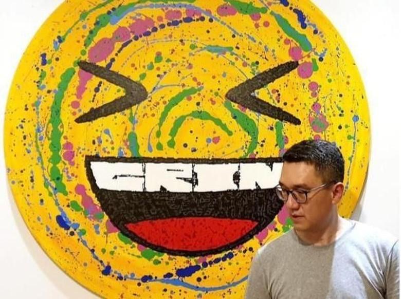 Lukisan Futuristik Mochtar Sarman Bakal Dipajang di Art Moments Jakarta