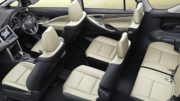 Interior baru Toyota Innova di India,
