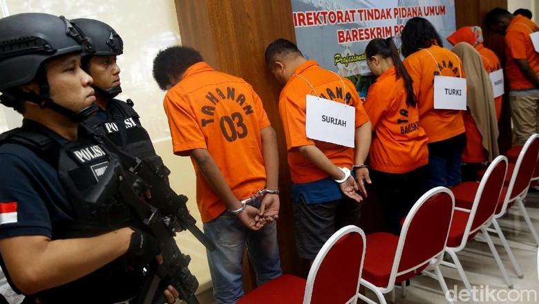 Polisi Ungkap Kasus Perdagangan Manusia Jaringan Timur Tengah