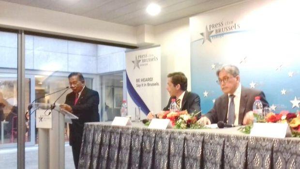 Menko Darmin: UE Terima Protes Keras RI Soal Diskriminasi CPO