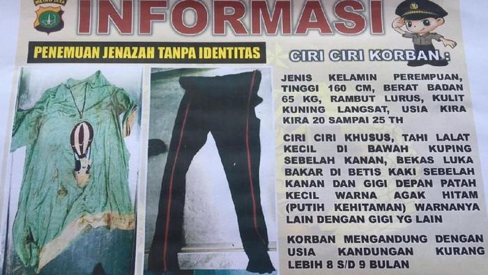 Ini Baju Yang Dipakai Mayat Wanita Hamil Di Pinggir Tol Jagorawi
