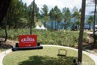 Melihat The Kaldera, Glamping dengan Panorama Spektakuler Danau Toba