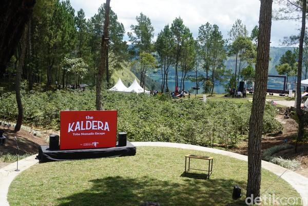 The Kaldera Nomadic Escape terletak di kawasan The Kaldera Resort, di Sibisa, Kecamatan Ajibata, Kabupaten Toba Samosir, Sumatera Utara (Shinta/detikcom)
