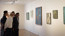 Jeihan Sukmantoro dan Lukisan 7 Presiden Indonesia