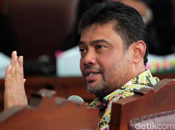Presiden Konfederasi Serikat Pekerja Indonesia (KSPI) Said Iqbal hadir di persidangan kasus hoax Ratna Sarumpaet. Ia hadir sebagai saksi dalam sidang tersebut.