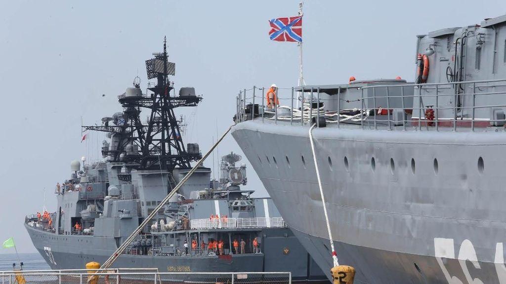 3 Kapal Militer Rusia Tiba di Filipina Saat AS Gelar Latihan Militer