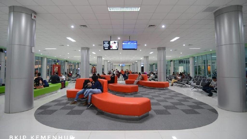 Megah! Ini Terminal Bandara Tjilik Riwut yang Diresmikan Jokowi