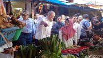 Sidak ke Pasar Sukabumi, Mendag Enggar: Harga Beras Stabil