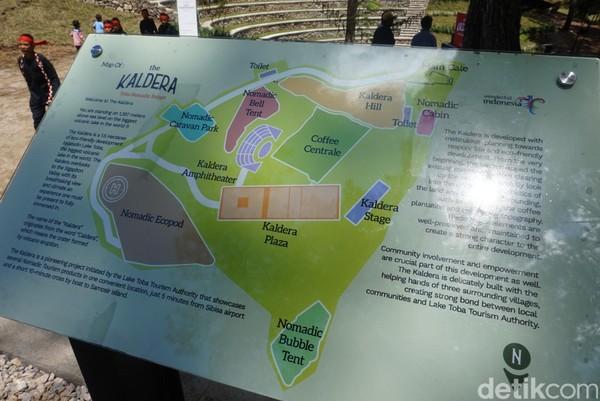 Wilayah ini terbagi ke beberapa area dengan sejumlah fasilitas yang mendukung untuk glamping (Shinta/detikcom)