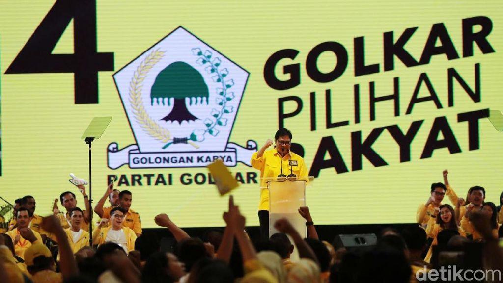 Jokowi Kunci Penentu Next Ketum Golkar