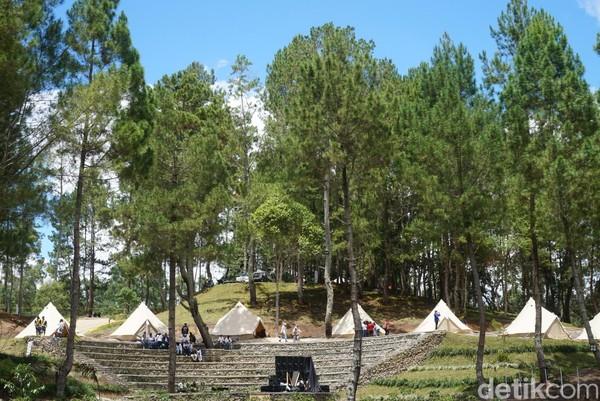 The Kaldera dibuat intim dan mini, hanya dapat menampung sekitar 50 pengunjung saja, meski ampitheater dapat menampung hingga 300 orang (Shinta/detikcom)