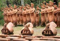 Tahukah Kamu, Banyuwangi Punya Taman Isinya 1.000 Patung Penari