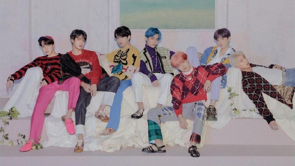 Boy With Luv BTS MV Boyband K-Pop Tercepat Capai 200 Juta Penonton
