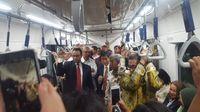 Anies bersama Wamenlu dan delegasi ASEAN menuju Stasiun MRT ASEAN