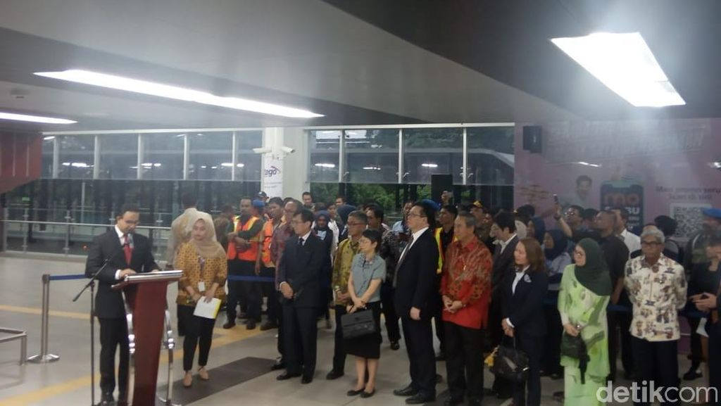 ASEAN Jadi Nama Stasiun MRT, Anies: Tanda Jakarta Tuan Rumah Baik