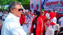 Ketua Harian DPW PAN Sultra Ikut Kampanye Pendukung Jokowi