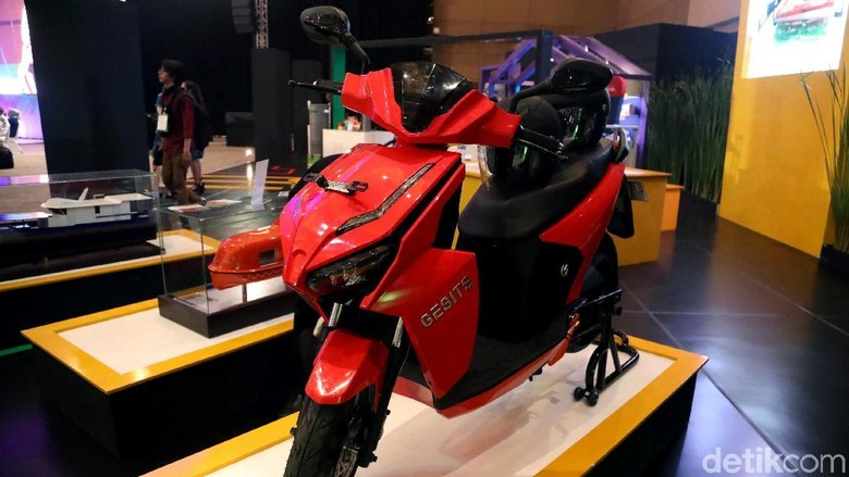 Prototipe Motor Gesits Foto: Pradita Utama