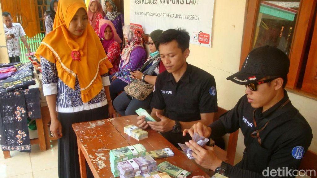 BI Layani Penukaran Uang di Daerah Terpencil Cilacap