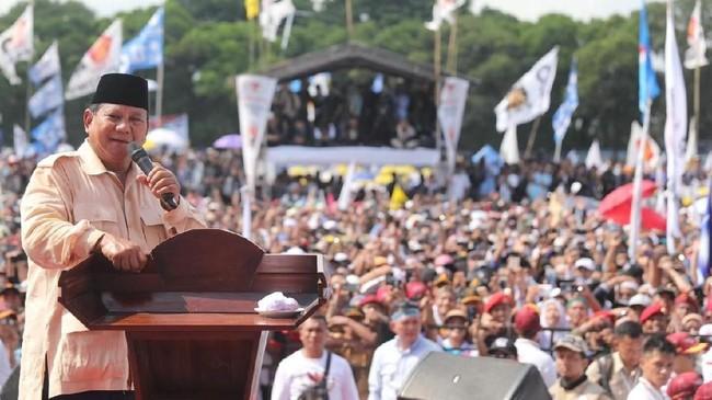 Foto: Kampanye Prabowo Subianto di Solo (Prabowo-Sandi Media Center)