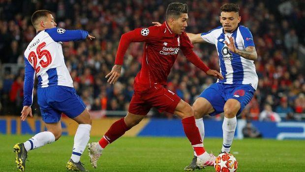 Liverpool hanya perlu menahan imbang Porto di leg kedua.