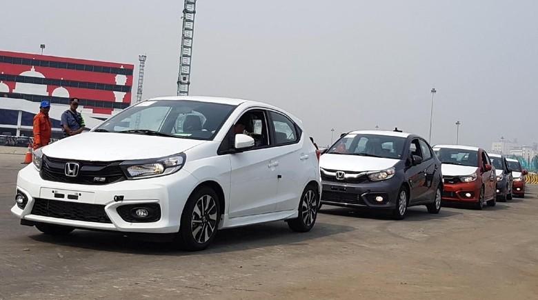 Honda Brio yang siap diekspor ke berbagai negara (dok HPM)