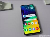 (EMBARGO) Ponsel Samsung Berkamera Unik Itu Namanya Galaxy A80