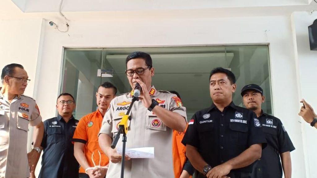 Detik-detik Penangkapan Artis FTV Agung Saga Terkait Narkoba