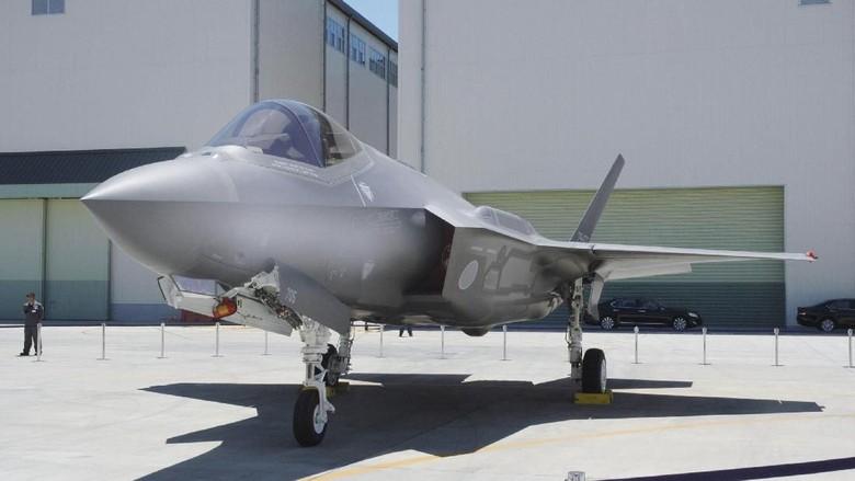 12 Jet Siluman F-35 Jepang Di-grounded Usai Insiden di Samudra Pasifik