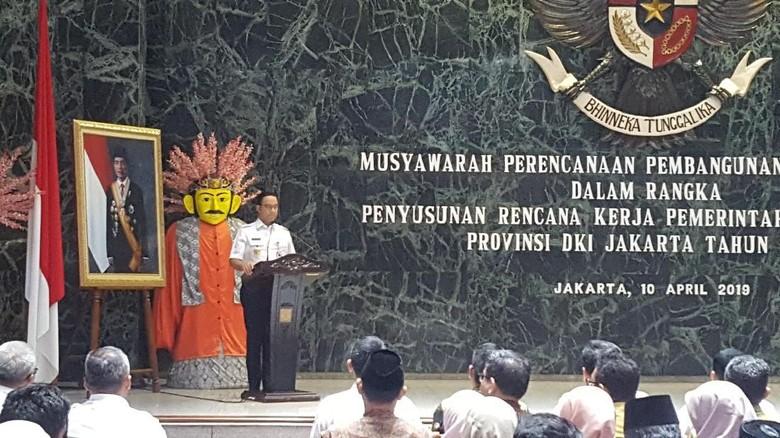 Buka Musrenbang, Anies Minta MRT Jadi Alat Pemersatu